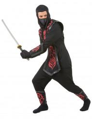 Déguisement ninja effet feutrine homme