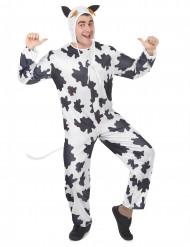 Déguisement vache avec chapeau adulte