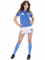 Déguisement footballeur Italie femme