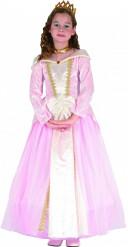 Déguisement princesse rose pâle fille