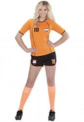 Déguisement footballeur Pays-Bas femme