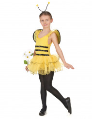 Déguisement abeille fille jaune à sequins
