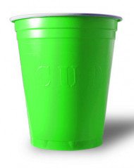 20 gobelets américain original cup vert