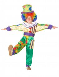 Déguisement clown bariolé garçon