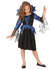 Déguisement bleu reine araignée fille