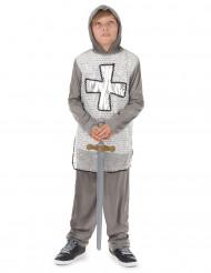 Déguisement chevalier gris garçon