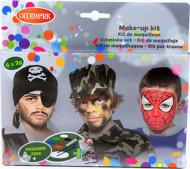 Palette maquillage 6 couleurs garçon