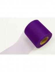 Rouleau de tulle violet 20 mètres