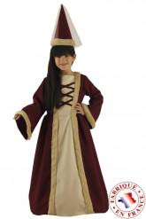 Déguisement demoiselle médiévale fille