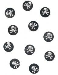 150 confettis de table pirate