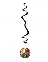 6 Suspensions Foot coupe du monde