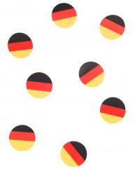 150 confettis de table drapeau Allemagne