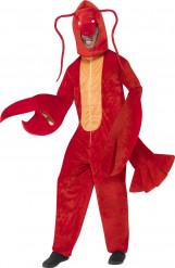 Déguisement homard adulte