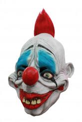 Masque 3/4 de clown rouge