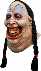 Masque intrégral femme forte effrayante