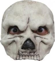 Demi masque squelette homme