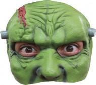 Demi masque monstre vert homme