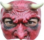 Demi-masque diable homme