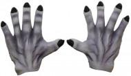 Mains de monstre grises