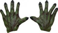 Main de monstre vertes