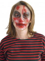 Masque transparent Halloween femme
