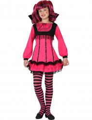 Déguisement vampire rose fille