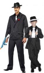 Déguisement de couple gangster charleston père fils