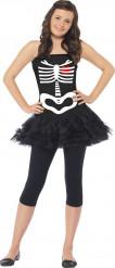Déguisement squelette adolescente Halloween
