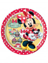 8 Assiettes Minnie café™