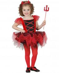 Déguisement diablesse tutu fille Halloween