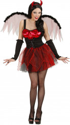 Déguisement diablesse rouge sexy femme Halloween