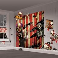 Décoration murale tête de mort