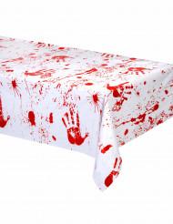 Nappe en plastique mains sanglantes 137 x 274 cm