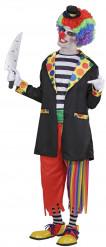 Déguisement vilain clown homme Halloween