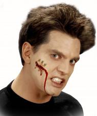 Fausse plaie coupure avec épingle adulte Halloween