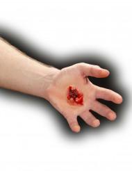 Fausse plaie blessure par balle adulte Halloween