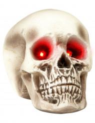Crâne yeux lumineux Halloween