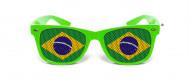 Lunettes humoristiques vertes Brésil