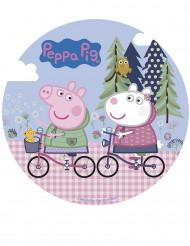Disque azyme 20 cm Peppa Pig™