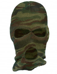 Cagoule camouflage adulte