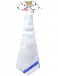 Cravate humoristique dédicace