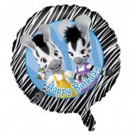 Ballon aluminium Happy Birthday Zou™