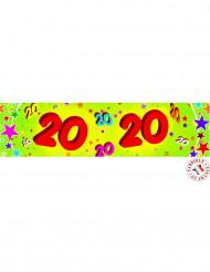 Banderole papier 20 ans 0,16x2,44m