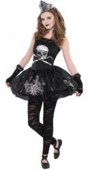 Déguisement ballerine des ténèbres adolescente Halloween