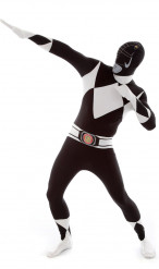 Déguisement combinaison noire Power Rangers™adulte Morphsuits™