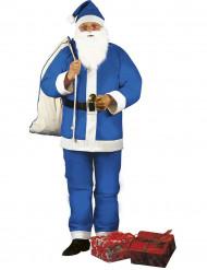 Déguisement Père Noël bleu homme