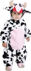 Déguisement vache à cornes bébé
