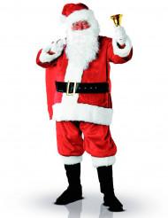 Déguisement Père Noël luxe adulte