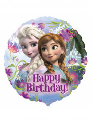 Ballon aluminium Happy Birthday La Reine des Neiges™