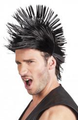 Perruque courte punk homme